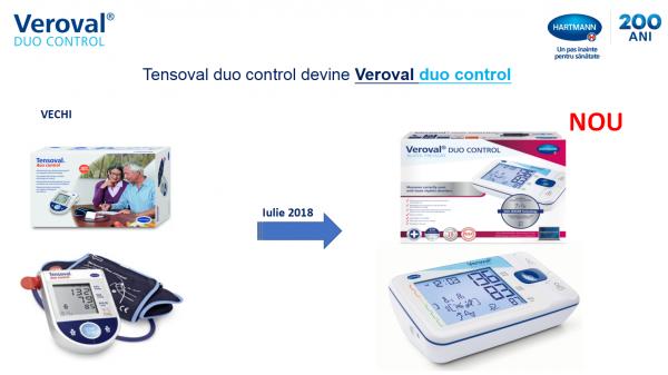 Tensiometru pentru brat, digital, complet automat Tensoval duo control II, manseta normala (M)