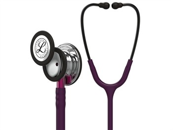 Stetoscop 3M Littmann Classic III Plum capsula oglinda 5960 + 2 Cd-uri educationale