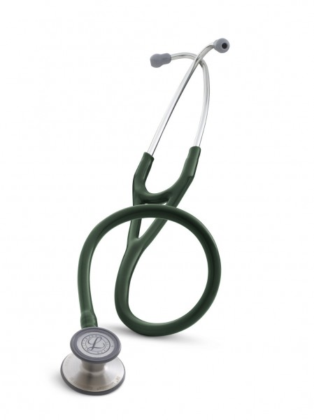 Stetoscop 3M Littmann Cardiology III Verde Inchis 3134 + 2 Cd-uri educationale