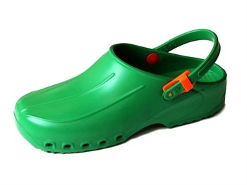 Saboti medicali ultra usori cu bareta 35-47 verde