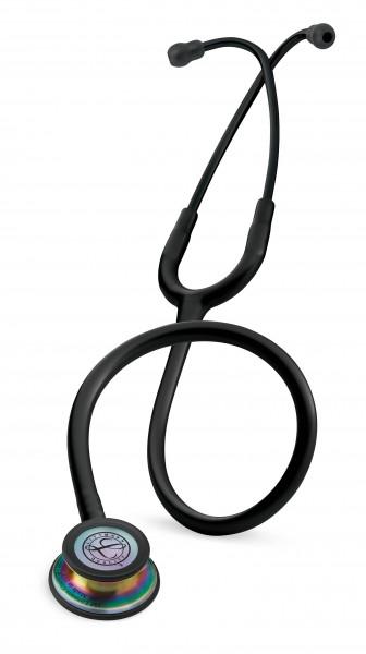 Stetoscop 3M Littmann Classic III Negru ,capsula curcubeu 5870 + Gravat gratuit + Acces aplicatie s