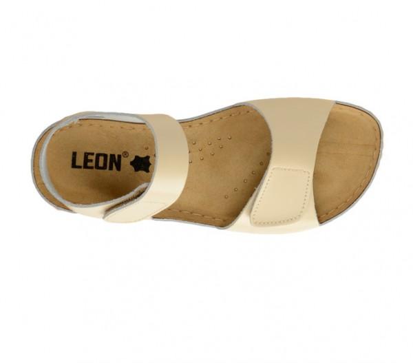Sandale ortopedice pentru dame Leon 963 Bej