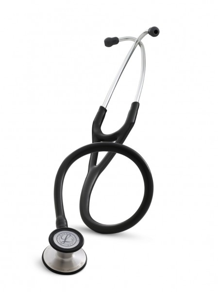 Stetoscop 3M Littmann Cardiology III Negru 3128 + 2 Cd-uri educationale