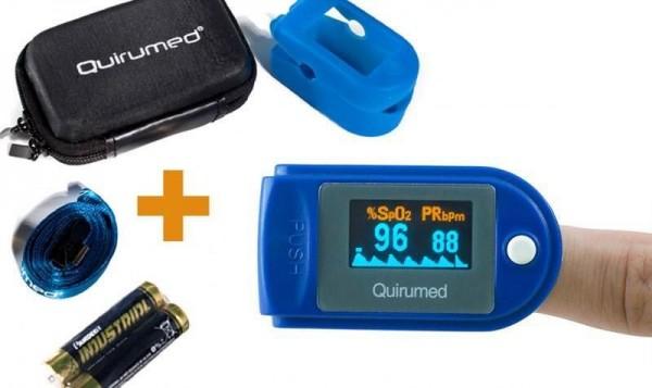 Pulsoximetru portabil saturatie de oxigen si masurarea pulsului cu unda pletismograficaa