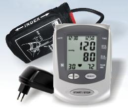 Tensiometru digital de brat Healthy Line SHL-888GA + Adaptor priza inclus
