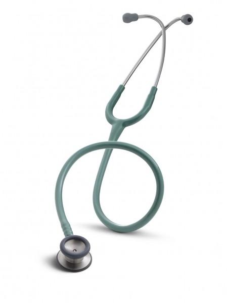 Stetoscop 3M Littmann Classic II Pediatric Verde Pin 2131 + 2 Cd-uri educationale