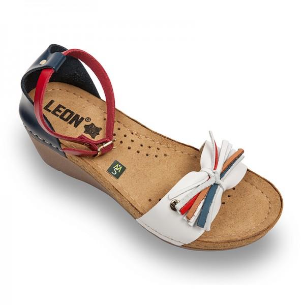 Sandale ortopedice pentru dame cu platforma Leon 1025 in 3 culori