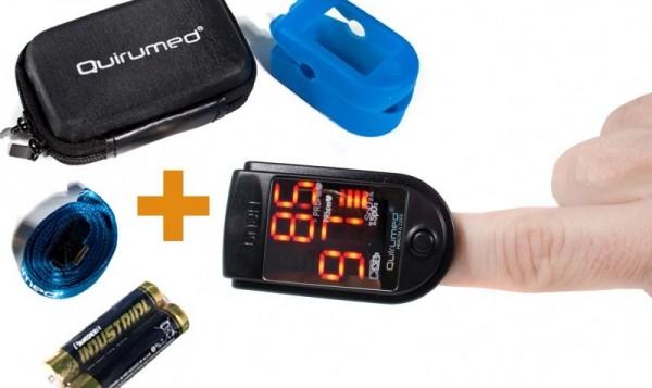 Pulsoximetru portabil pentru masurarea pulsului si a saturatiei de oxigen OXYM2001