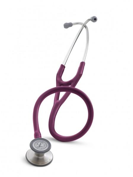 Stetoscop 3M Littmann Cardiology III Plamaniu 3135 + 2 Cd-uri educationale